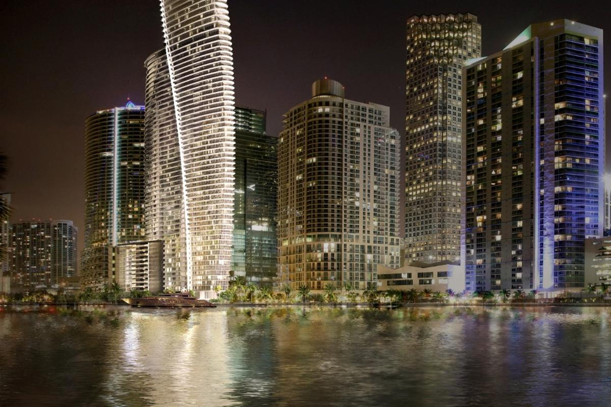 300 Biscayne Boulevard Way is due to be completed in 2021