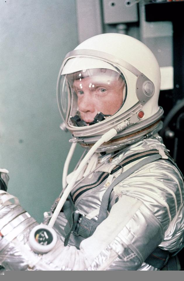 John Glenn was one of the original Mercury Seven astronauts