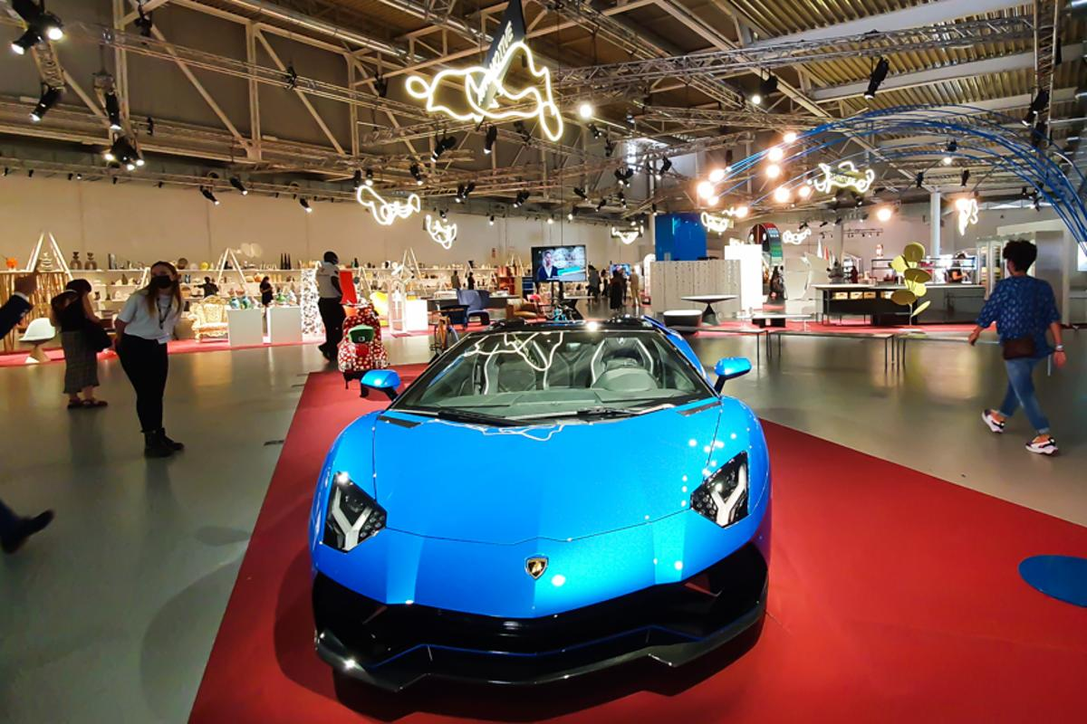 Milan's Salone del Mobile has once again filled the Italian city with highlights from Lamborghini