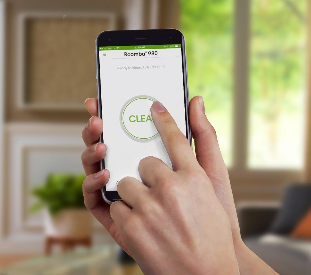 The iRobot HOME App