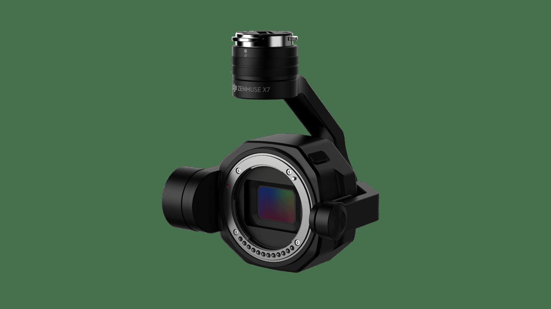 The Super 35 video sensor onboard DJI's Zenmuse X7 camerafeatures 14 stops of dynamic range