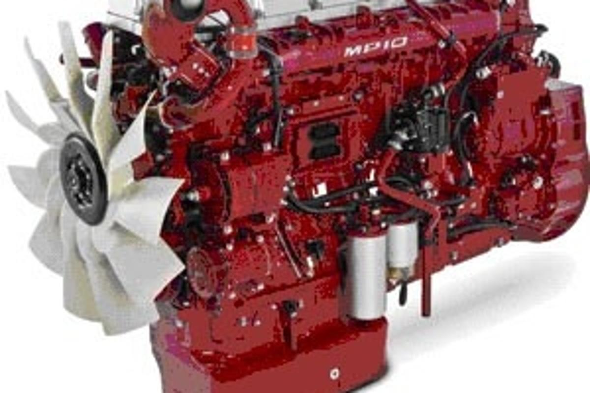 Six cylinders - 16 litres - each pot has the capacity of a family sedan