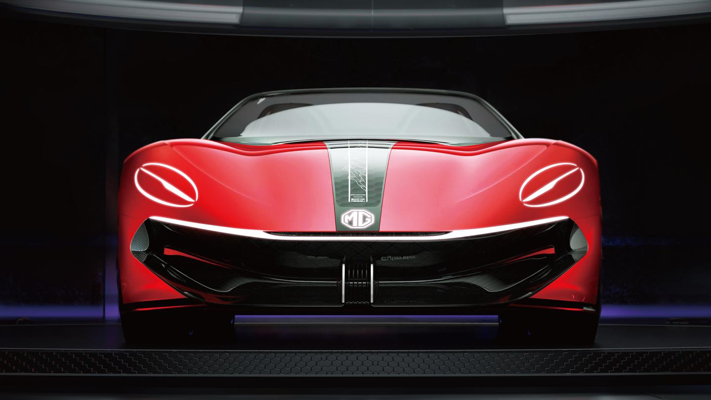 """MG's grille design looks to heavy and """"smiley"""" to us when viewed head on"""