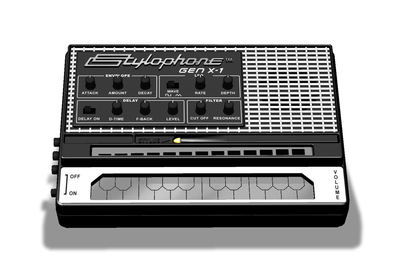 The Stylophone Gen X-1 debuts at NAMM 2017, before going onsale in May