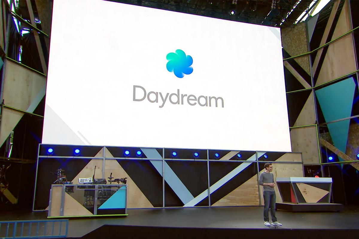 Daydream announced on stage at Google I/O