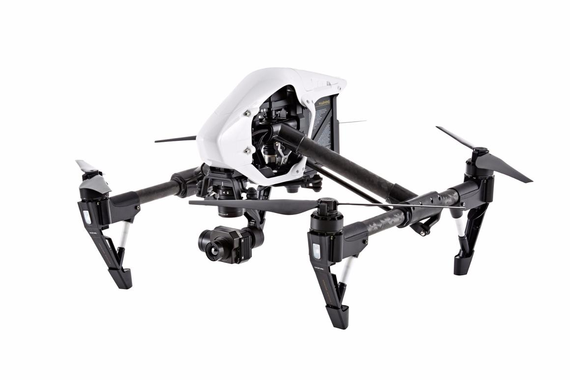 DJI turns up the heat with new thermal-imaging camera