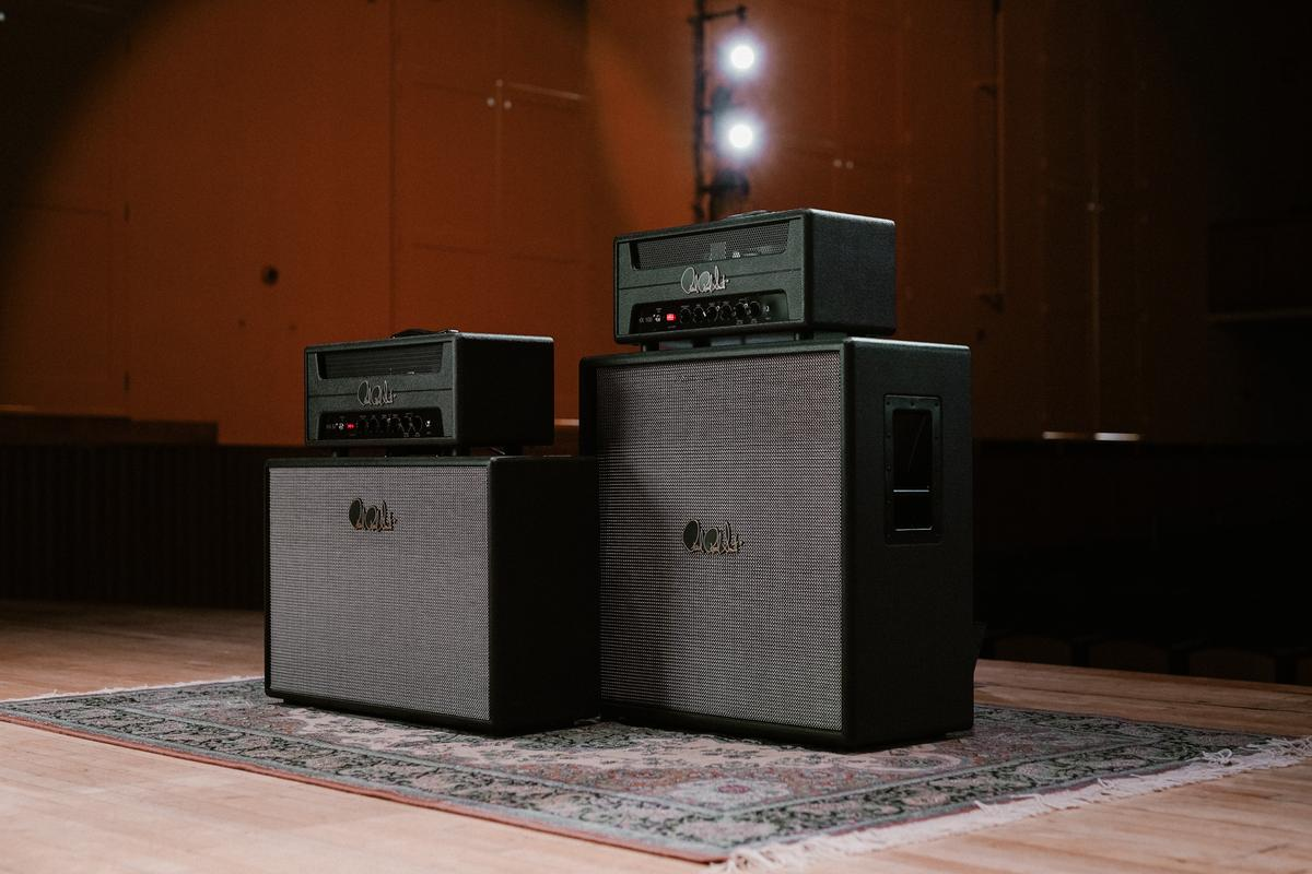 The HX100 and HX50 are based on circuitry from a 100-W Marshall Super Lead amp that's said to have been used by guitar legend Jimi Hendrix at 1969's Woodstock music festival