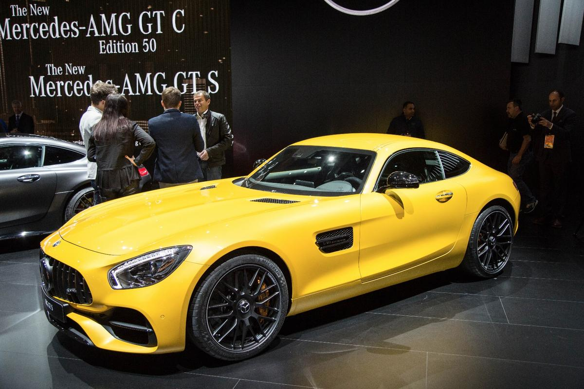 All AMG GT models are receiving technical updates, including more power