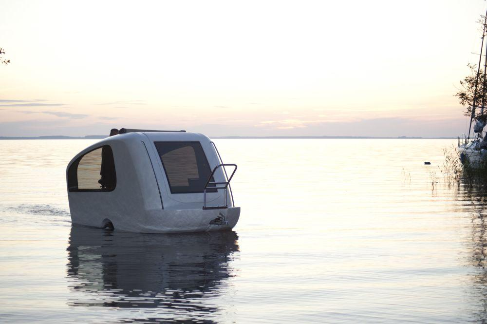 Designed for inland waters only, Sealander comes in the form of a compact and lightweight trailer