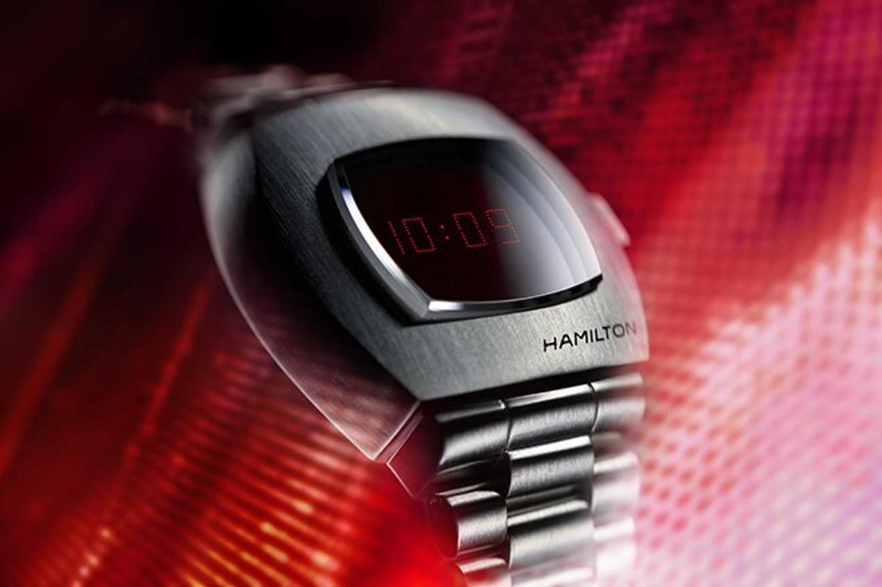 The Hamilton PSR celebrates 50 years since the unveiling of the Pulsar watch