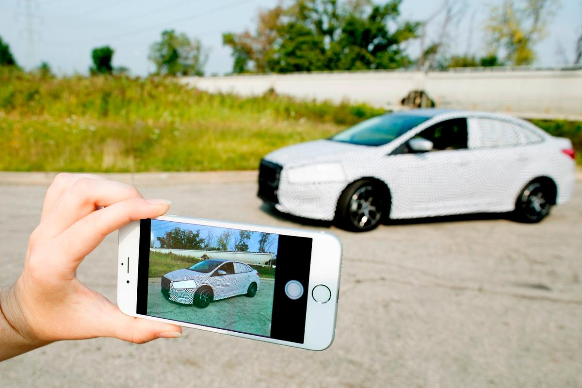 Keeping car designs secret until they are launched is becoming increasingly difficult because of the proliferation of cameras and video cameras