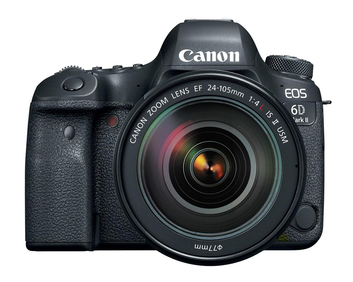 The new Canon 6D MkII