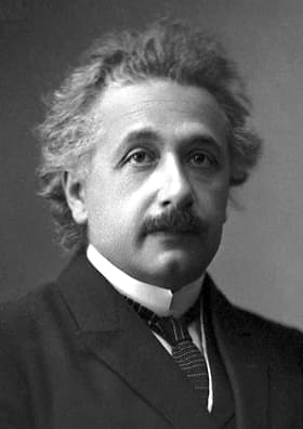 The official photograph of Albert Einstein for the 1921 Nobel Prize in Physics