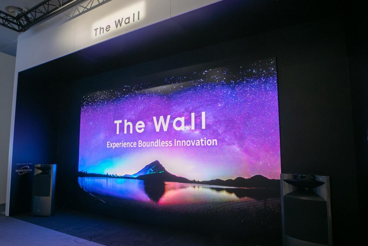 Samsung announced the 292 inch large format modular display at ISE 2019 in Amsterdam