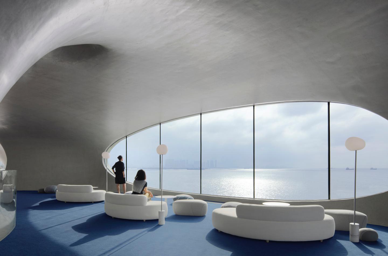 Cloudscape of Haikou offers choice views of the sea and coastline