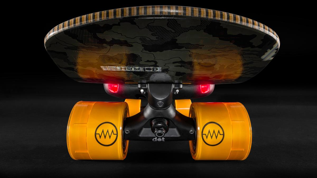 Flexible modularity at the heart of dot e-skateboard design