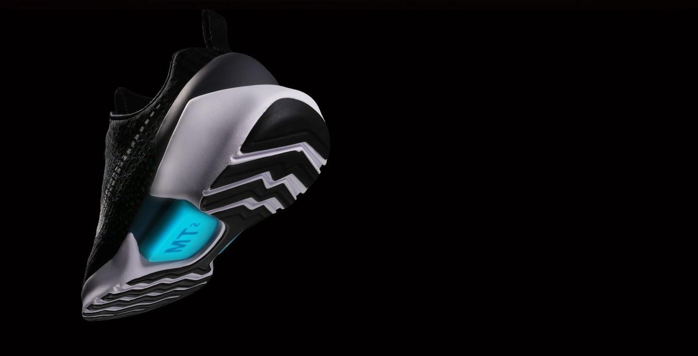 Nike's HyperAdapt sneakers, from behind