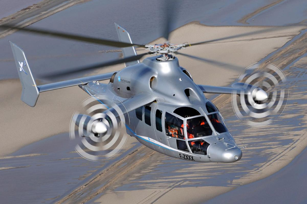 Eurocopter's X3 demonstrator has exceeded its initial speed target of 220 knots (Image: Patrick Penna)