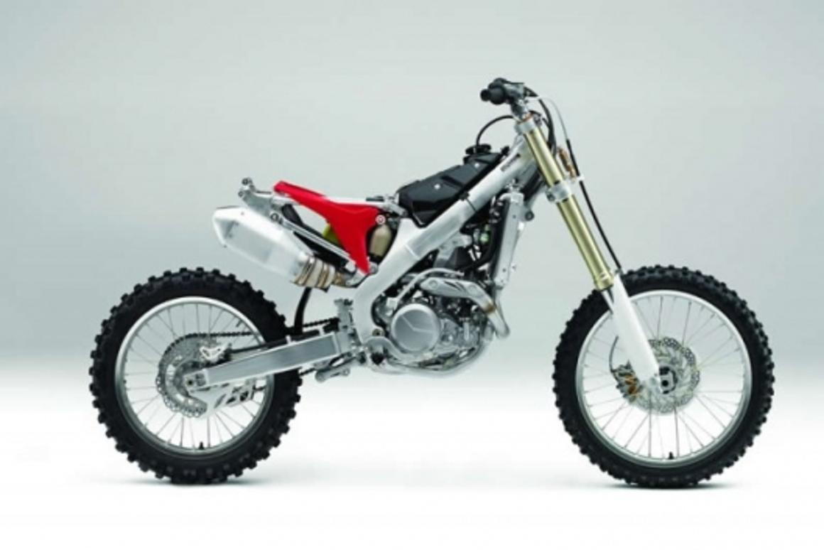Honda's all-new 2009 CRF450R Motocrosser gets fuel injection