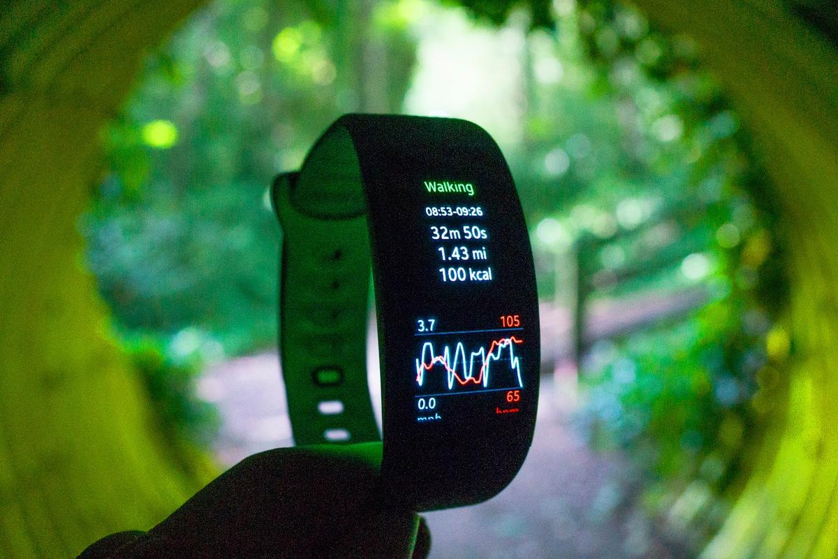 Gizmag reviews the Samsung Gear Fit2 GPS sports tracker