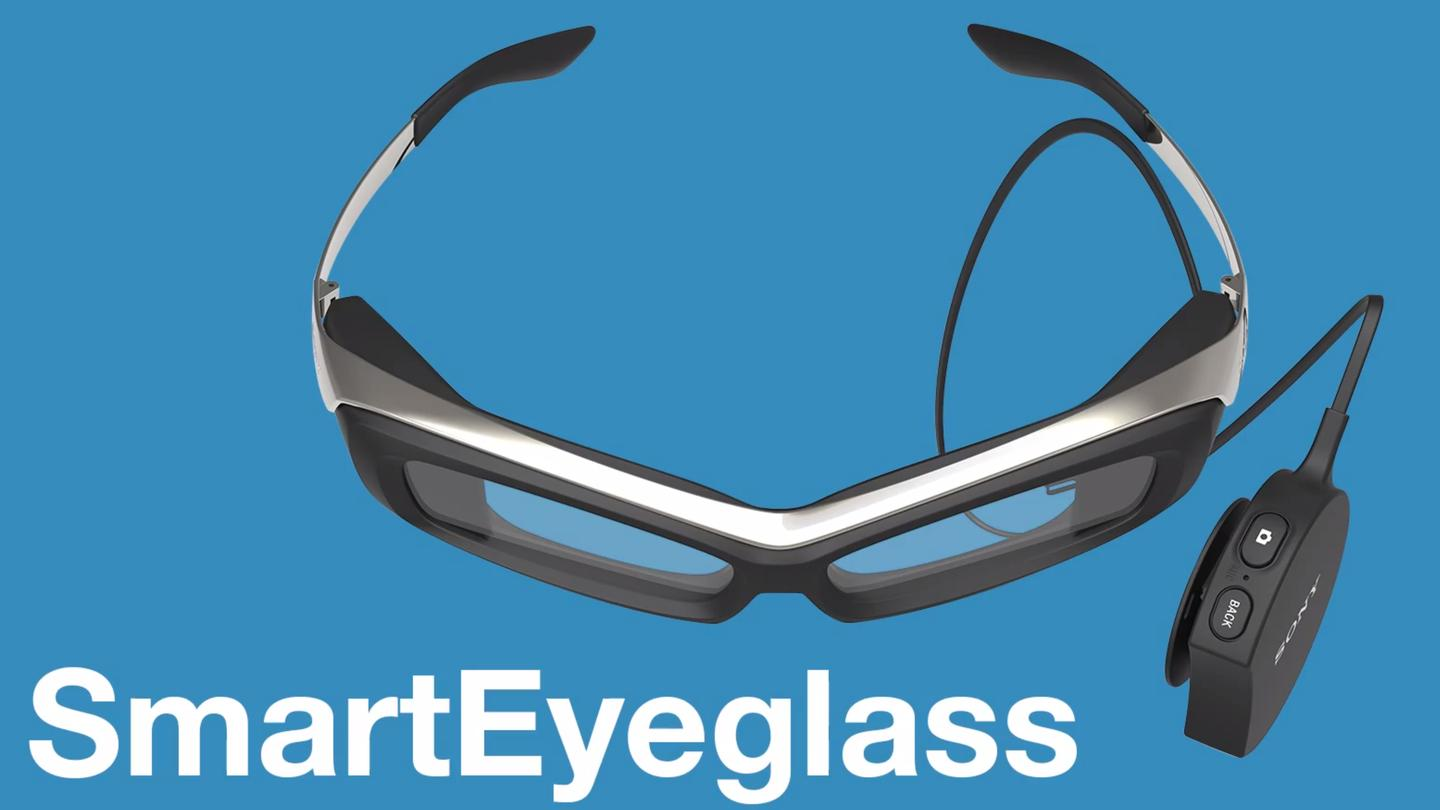 Sony's SmartEyeglass is somewhat clunky-looking Google Glass competitor