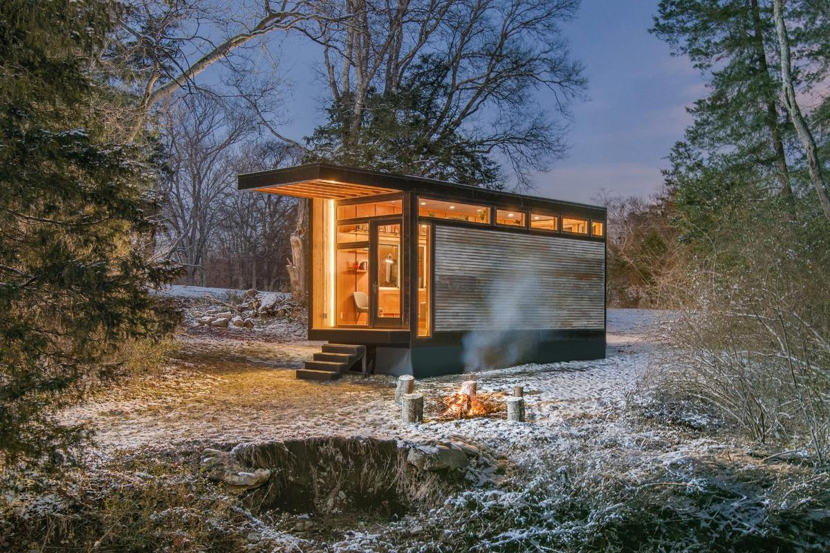 Unlike the previous creations from New Frontier Tiny Homes, the base model Cornelia isn't really intended for full time living