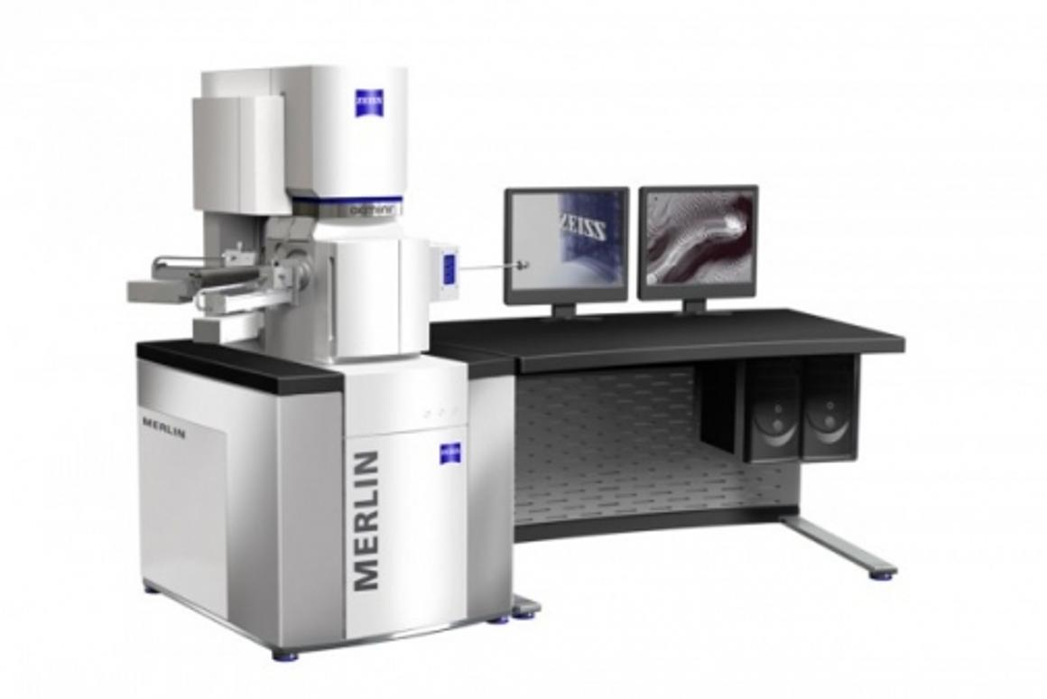 The new Field Emission Scanning Electron Microscope, MERLIN.