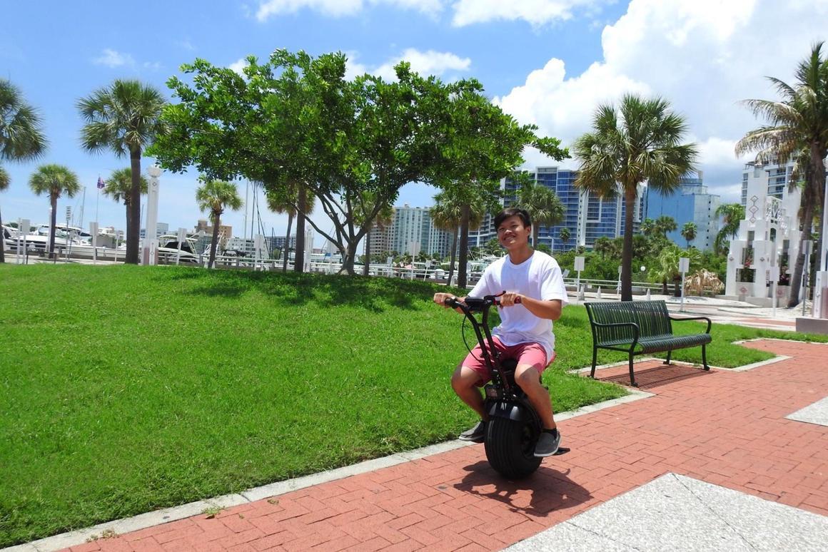 The Uno Bolt in its native habitat,Florida
