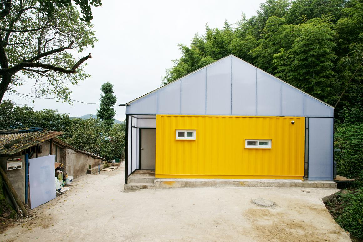 The home is located in a rural village in South Korea (Photo: Hwang Hyochel)