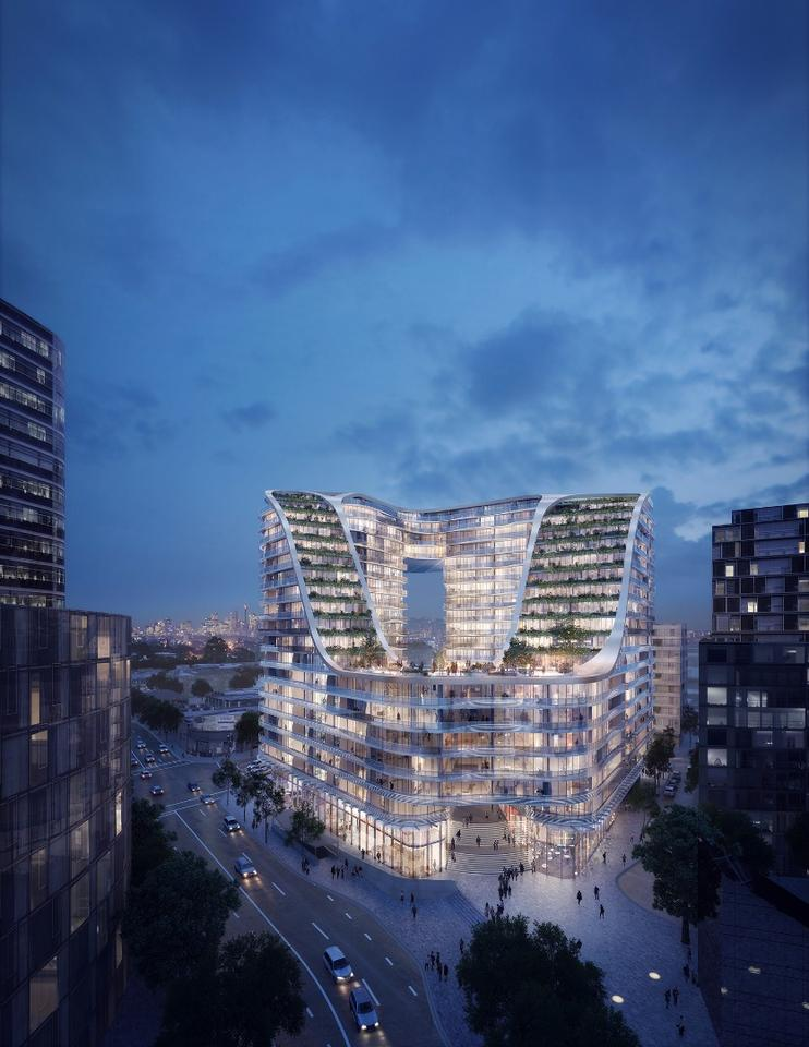 Infinity by Crown Group is designed by Koichi Takada Architects