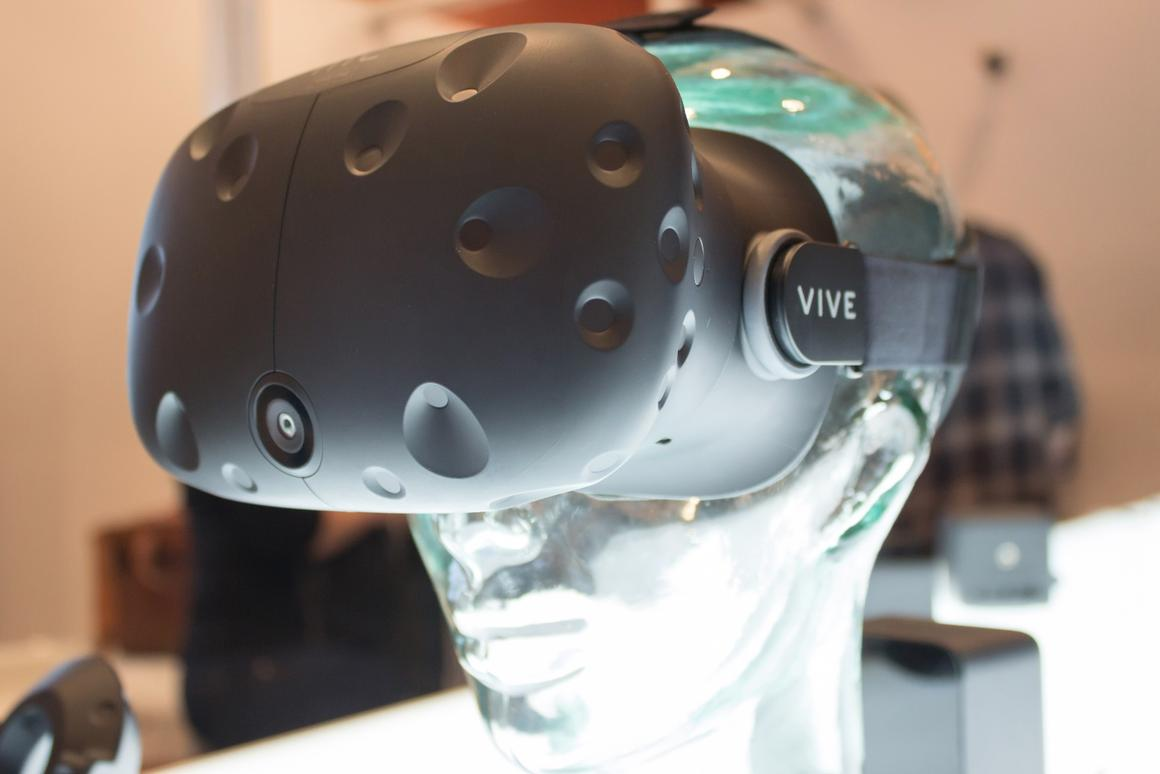 The HTC Vive is up for pre-order for $799
