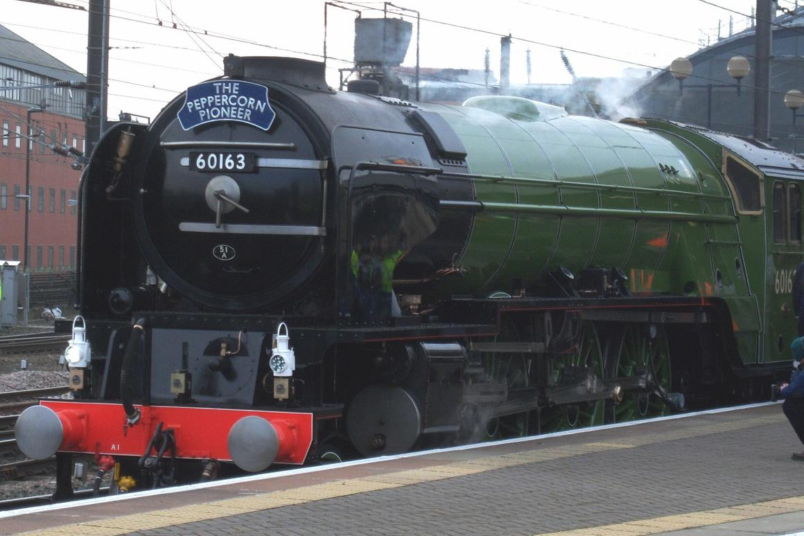 The Tornado was built by hand from the original plans