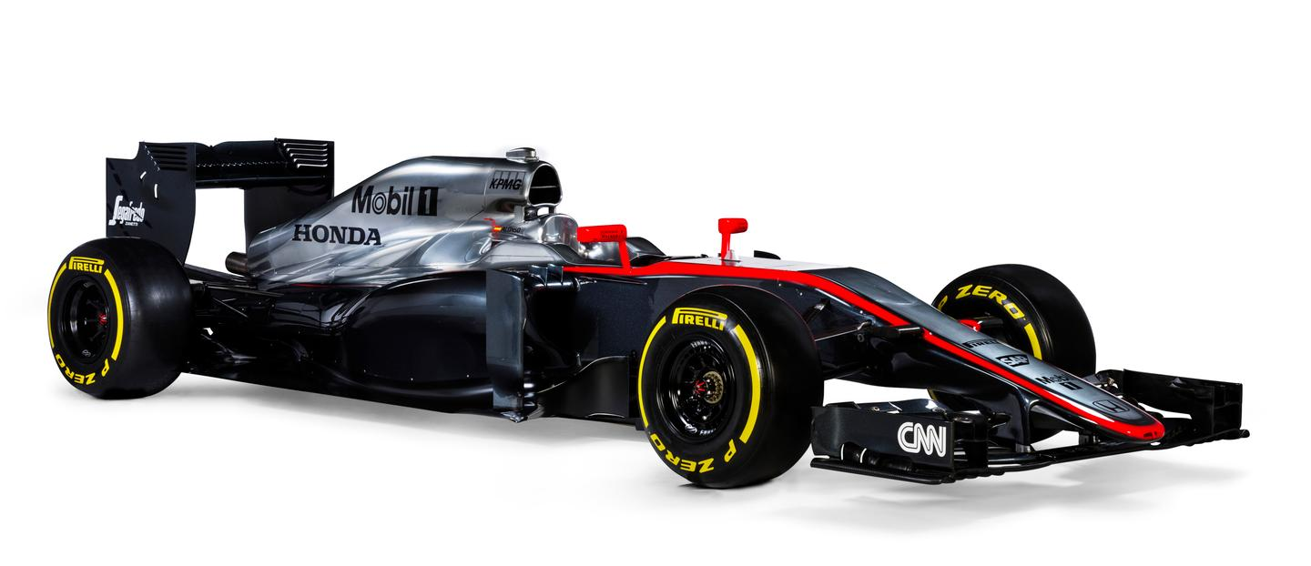 The MP4-30 marks a return to the partnership between McLaren and Honda in F1