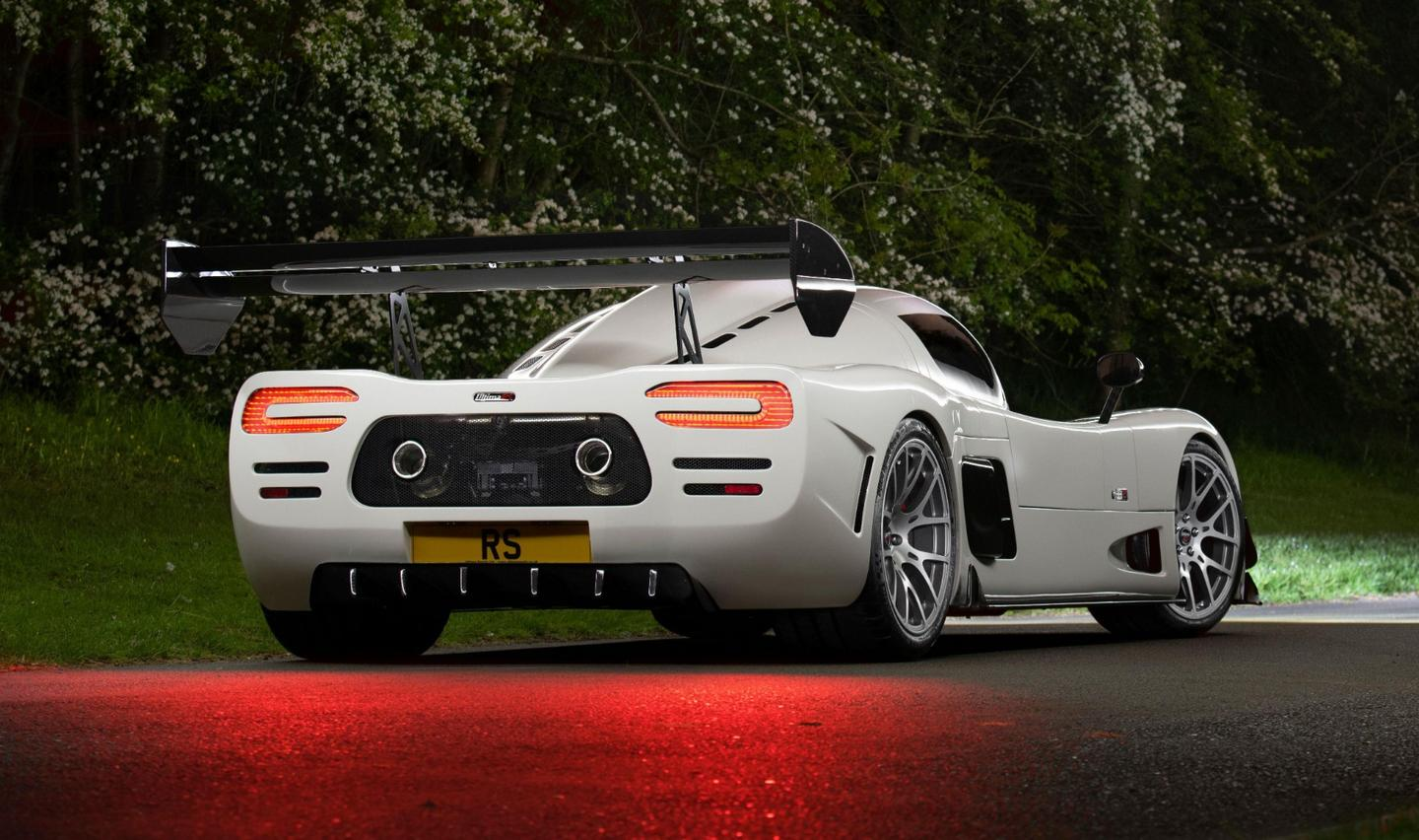 The new Ultima RS hypercar: 1200 horsepower and 250 mph for