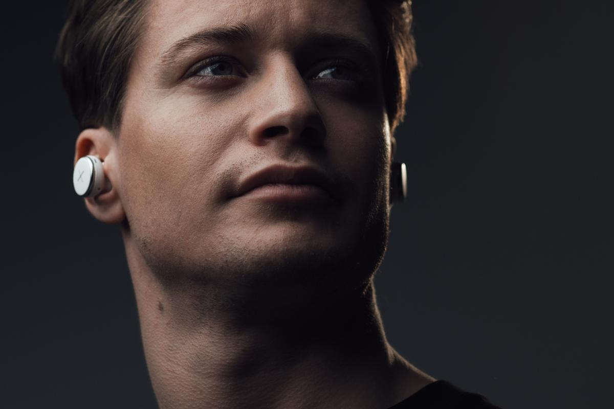International DJ, songwriter and composer Kygo shows off the Xellence true wireless earphones from X by Kygo