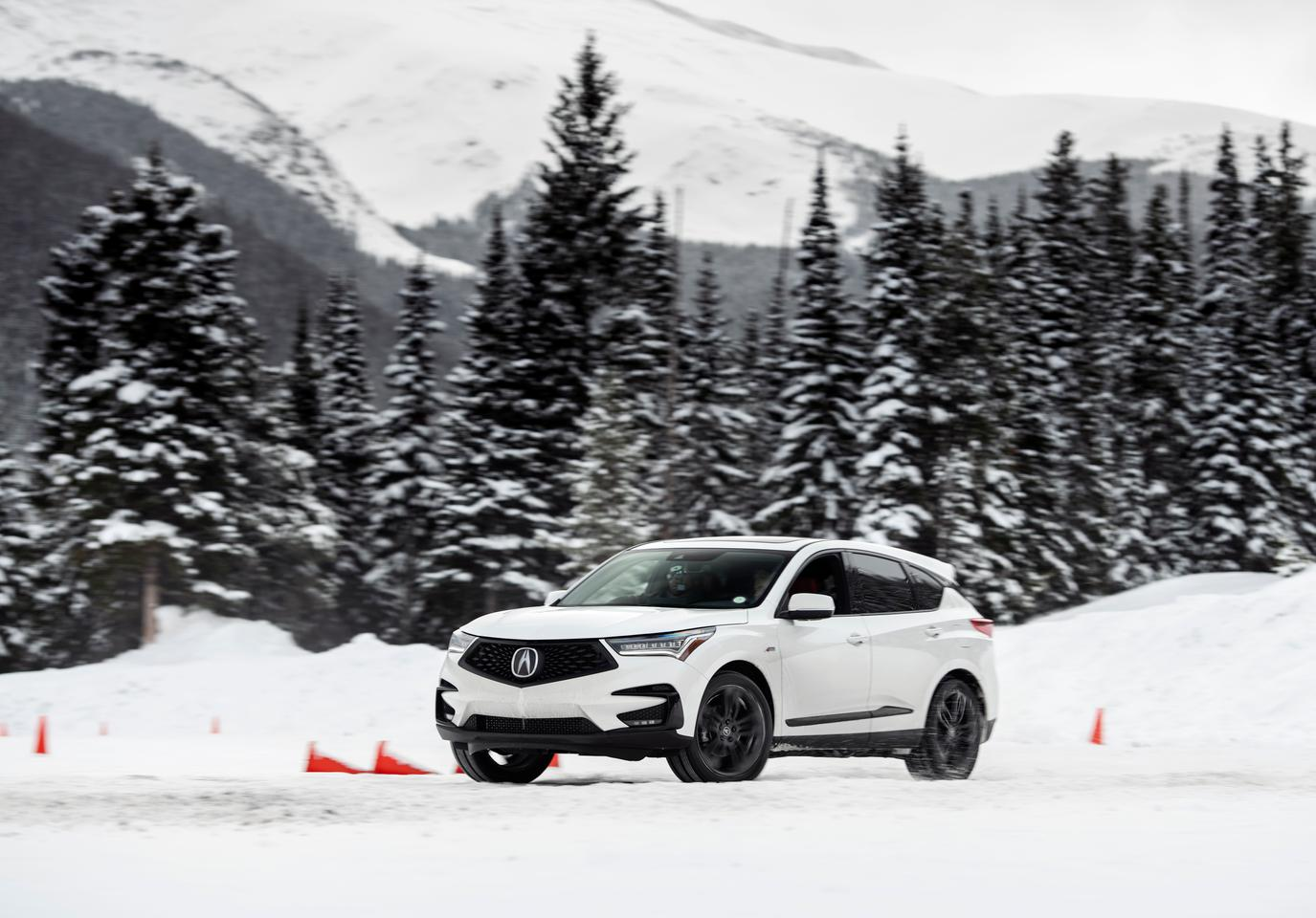 The 2020 Acura RDX is a very well-done vehicle and is both fun and extremely safe on the snow and ice