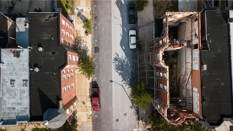 Baltimore street scene