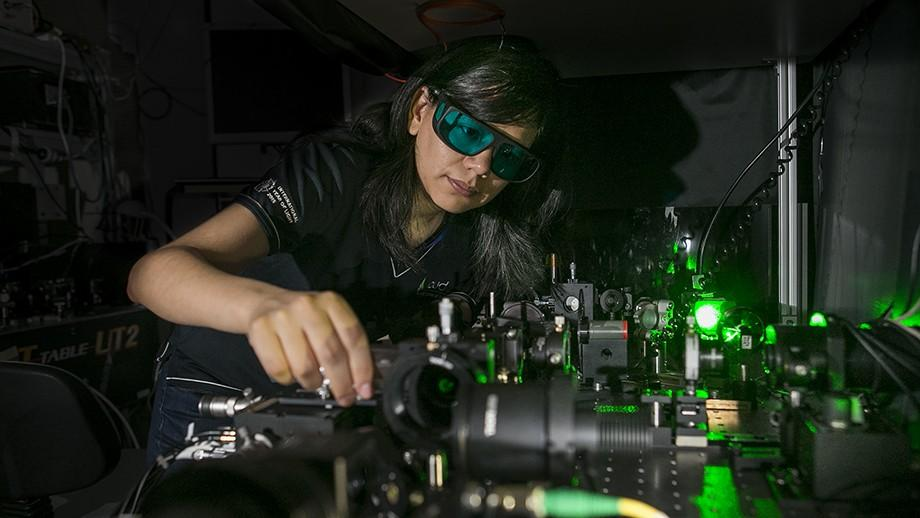 Researchers at ANU have developed a nanocrystal that could allow for night vision technology to be applied to a conventional pair of glasses