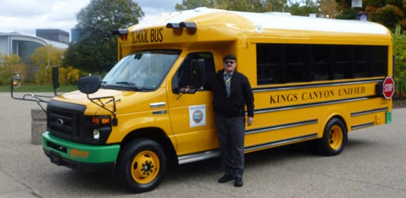 Kings Canyon Unified School District, in the San Joaquin Valley, will be the recipient of the first vehicles off the line