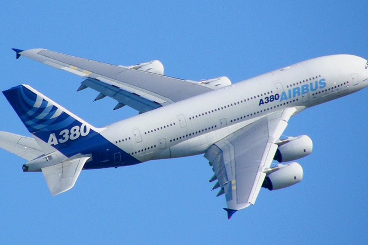 Using the new technology automobiles and aircraft, like this Airbus A380, could harness currently wasted kinetic energy to power some systems (Photo: Axwel via Flickr)