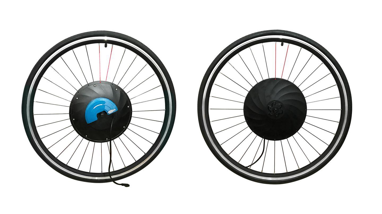 The UrbanX Eco has a 240-watt motor while the Booster has a 350-watt version