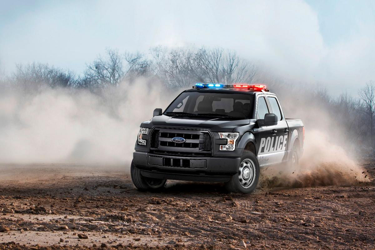 Ford has toughened up the F-150 for police service
