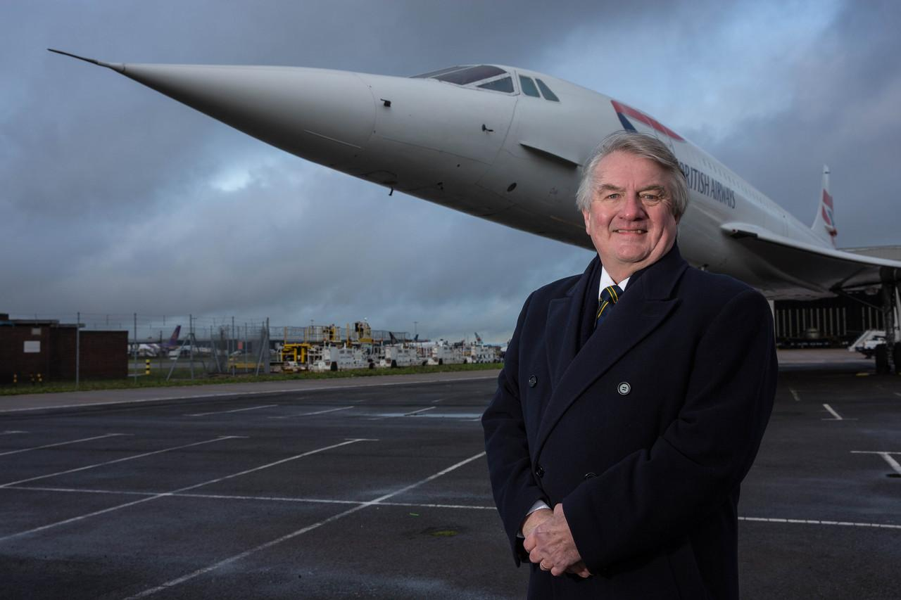 Captain Mike Bannister, British Airways' former chief Concorde pilot in 2016