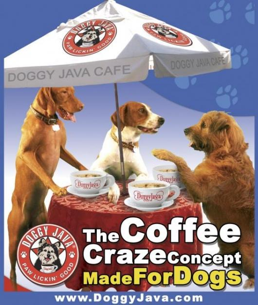 """Doggy Java caffeine free, beef flavored """"coffee"""" for dogs"""