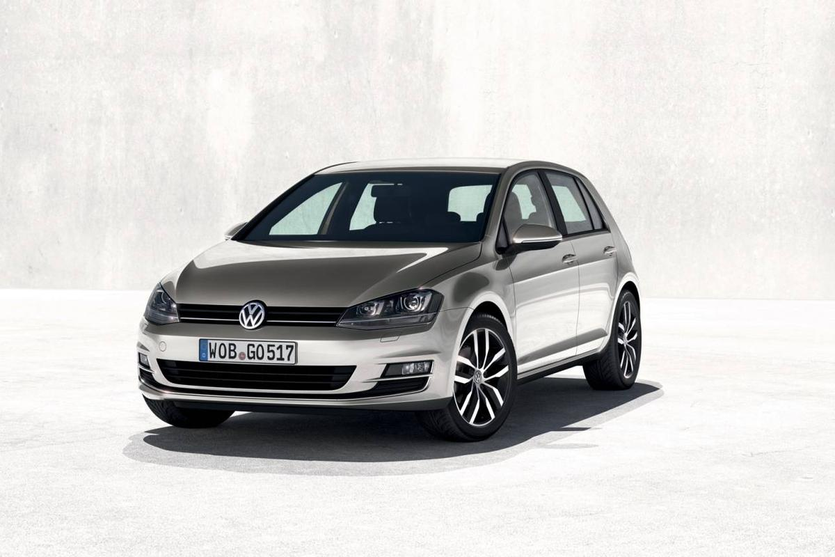 The new 7th generation Golf adopts the Volkswagen Groups MQB platform