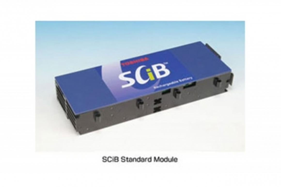 Toshiba's SCiB Super Charge Lithium ion Battery