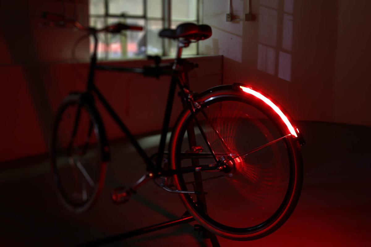 The Revolights Arc knows how fast you're going, and shines accordingly