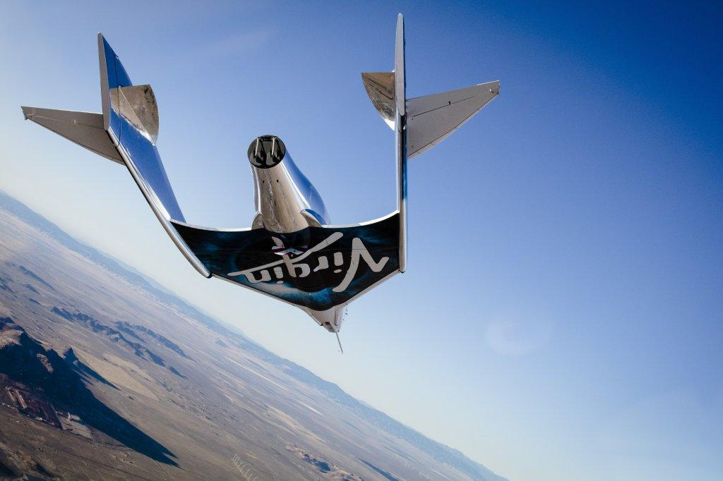 VSS Unity was made its first free glide test