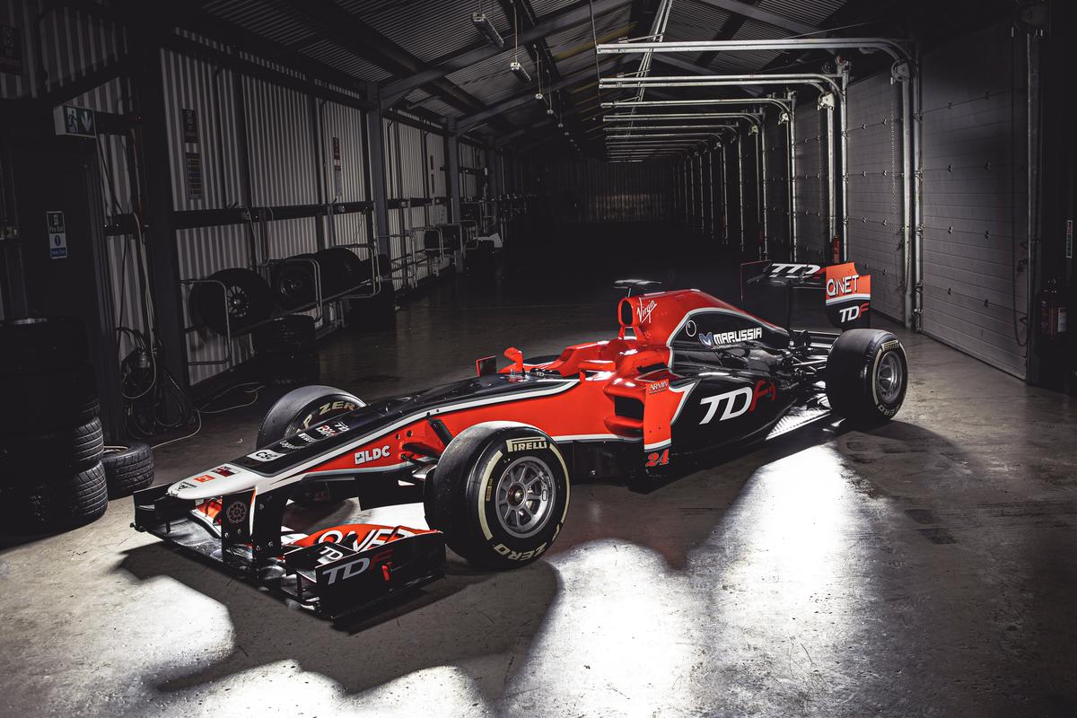 The ultimate track car: a low-maintenance Formula One car you can own. Well. not you, but somebody like you with more money