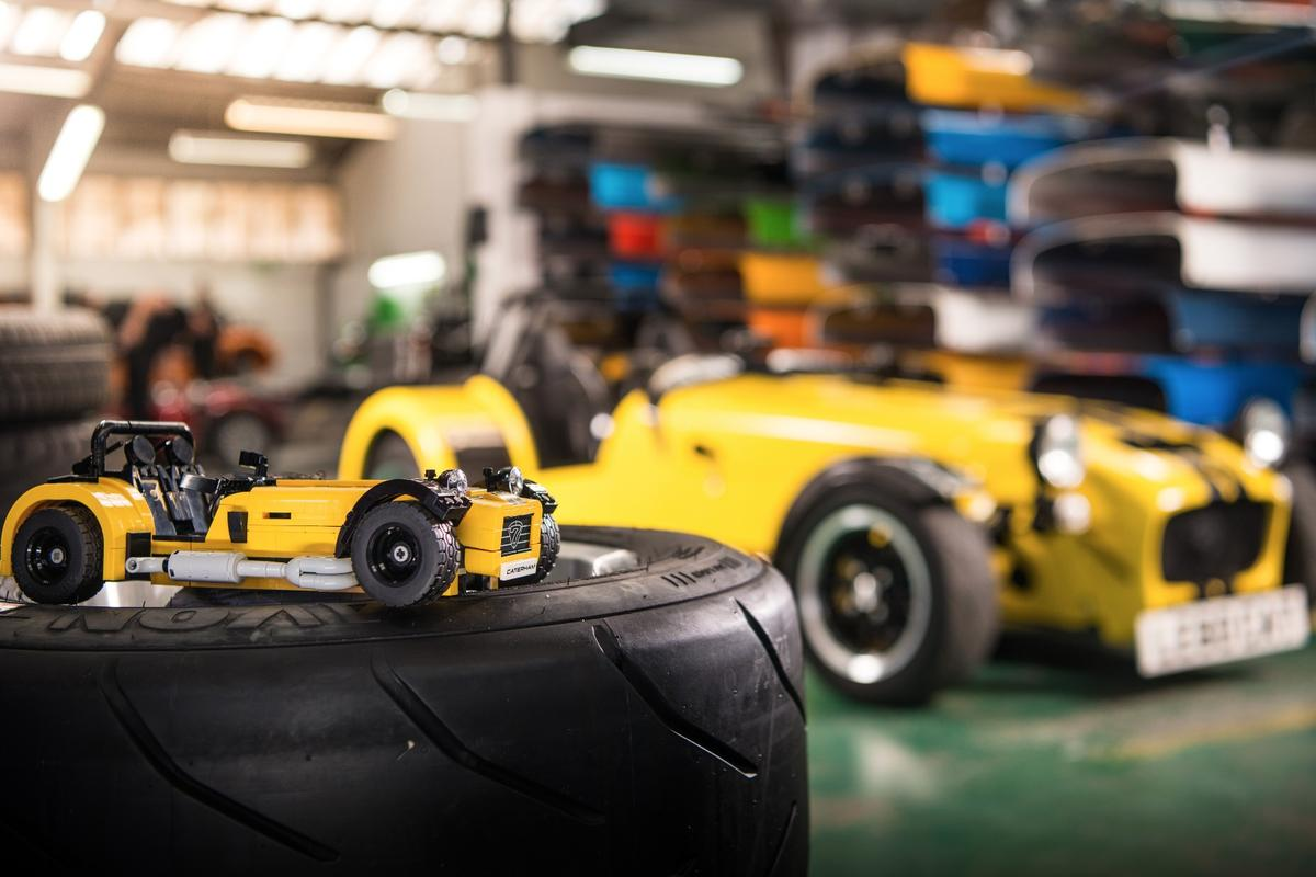 Caterham and Lego have teamed up on a little 620R with a difference